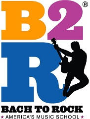 Bach to Rock square Logo